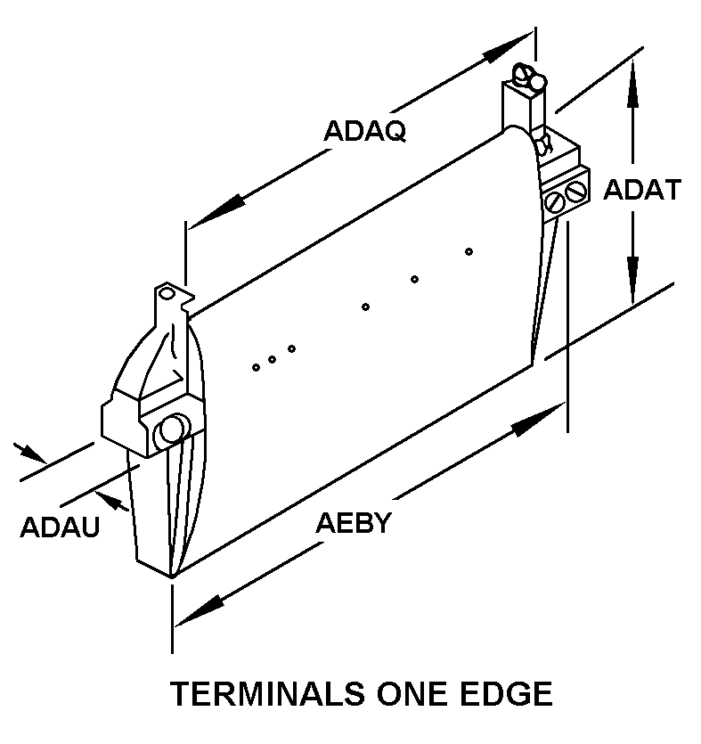 TERMINALS ONE EDGE style nsn 5905-00-752-3514