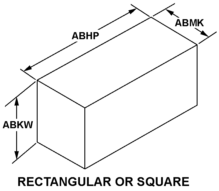 RECTANGULAR OR SQUARE style nsn 5955-01-170-2332