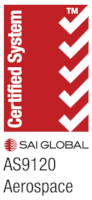 AS9120 Certified by SAI Global